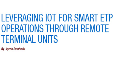 Leveraging IoT for smart ETP operations through remote terminal units