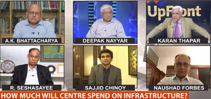 Dr. Naushad Forbes on Upfront with Karan Thapar