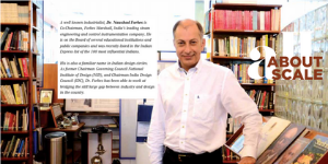 Dr. Naushad Forbes featured in Design India Magazine