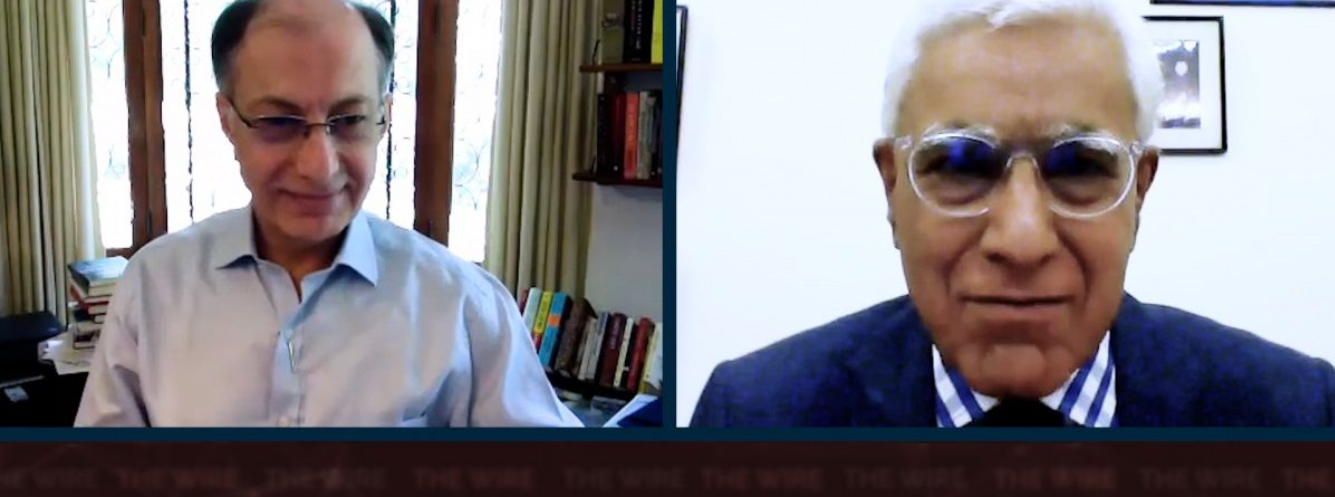 Naushad's interview to Karan Thapar of The Wire on the lockdown in Maharashtra