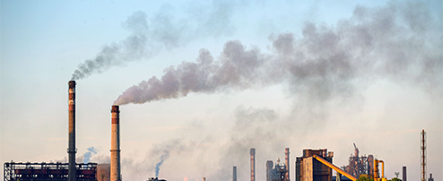 Continuous Monitoring of Industrial Emissions